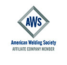 American Welding Society® (AWS) – Corporate Member No. 2054768