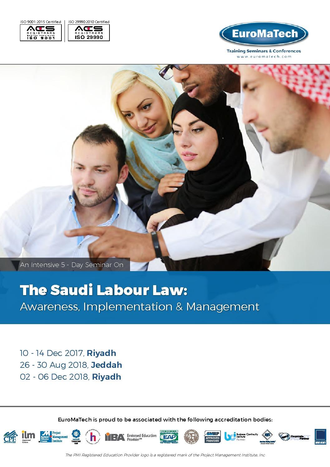 thumbnail of HR120_The Saudi Labour Law – Awareness, Implementation & Management
