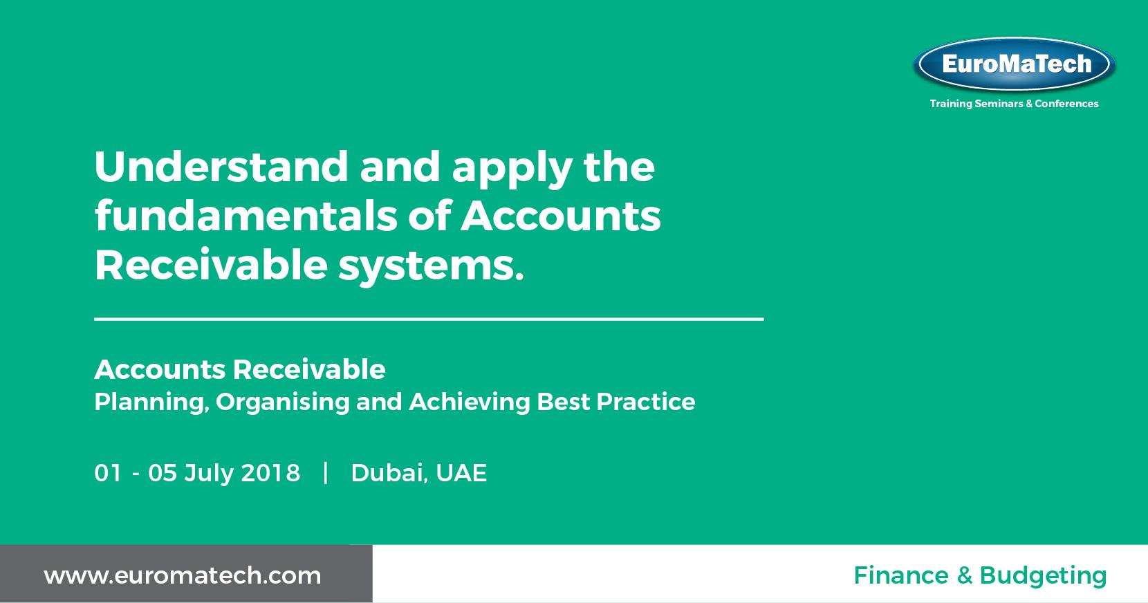 Accounts Receivable Training Course