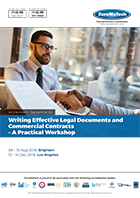 thumbnail of CM 114Writing Effective Legal Documents and Commercial Contracts – A Practical Workshop