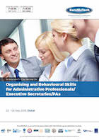 thumbnail of AD107Organising and Behavioural Skills <br/>for Administrative Professionals/ Executive Secretaries/PAs