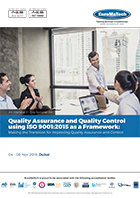 thumbnail of MG 206Quality Assurance and Quality Control using ISO 9001:2015 as a Framework: