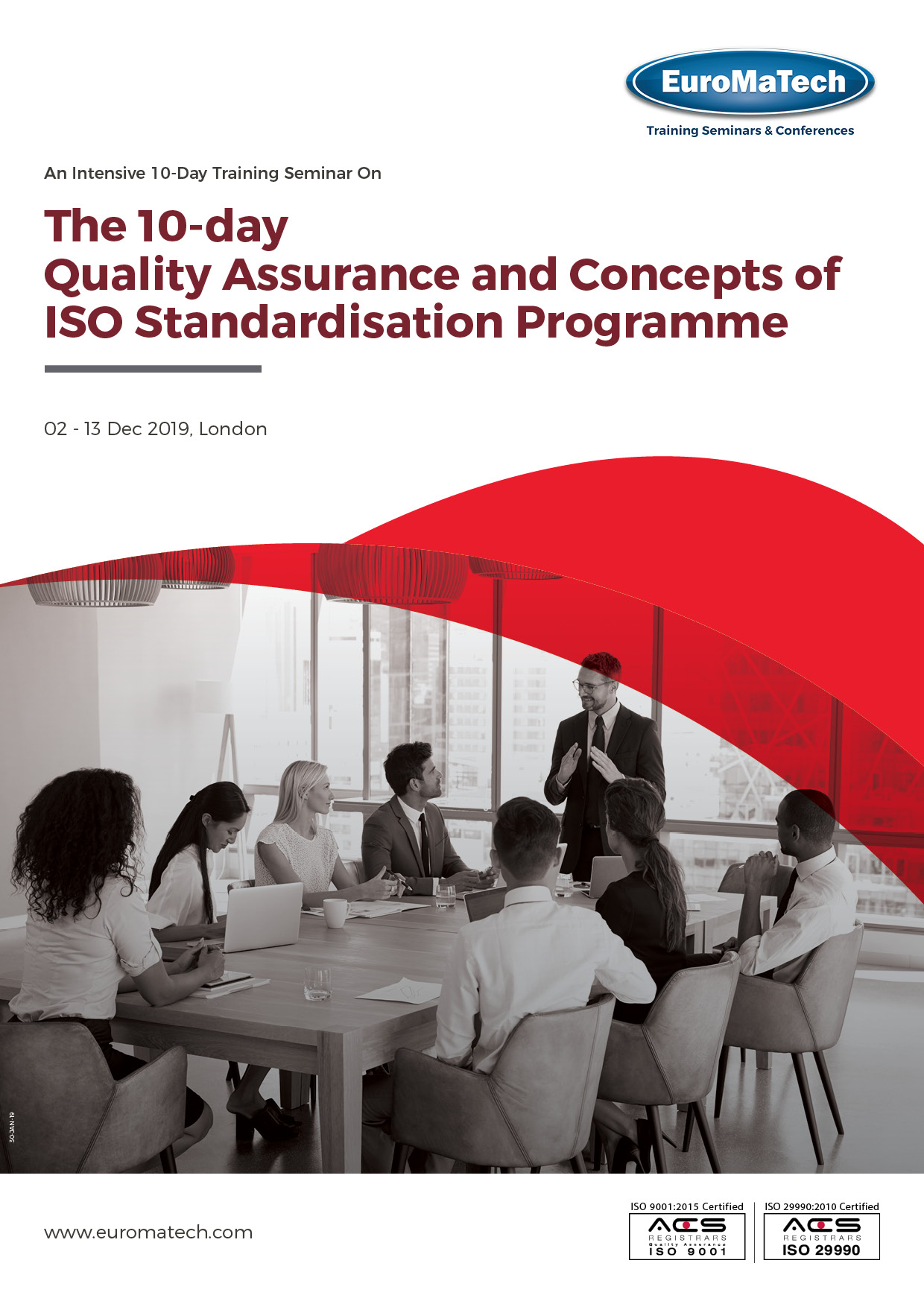 thumbnail of MG336The 10-day Quality Assurance and Concepts of ISO Standardisation Programme