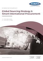 thumbnail of MM116Global Sourcing Strategy & Smart International Procurement