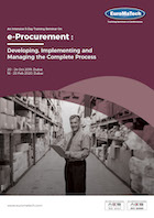 thumbnail of MM104e-Procurement : <br><small> Developing, Implementing and Managing<br> the Complete Process</small>
