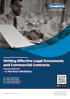 thumbnail of CM114Writing Effective Legal Documents and Commercial Contracts<br><small> - A Practical Workshop</small>