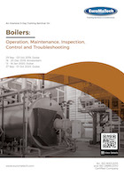 thumbnail of ME116Boilers: <br><small>Operation, Maintenance, Inspection,<br> Control and Troubleshooting</small>