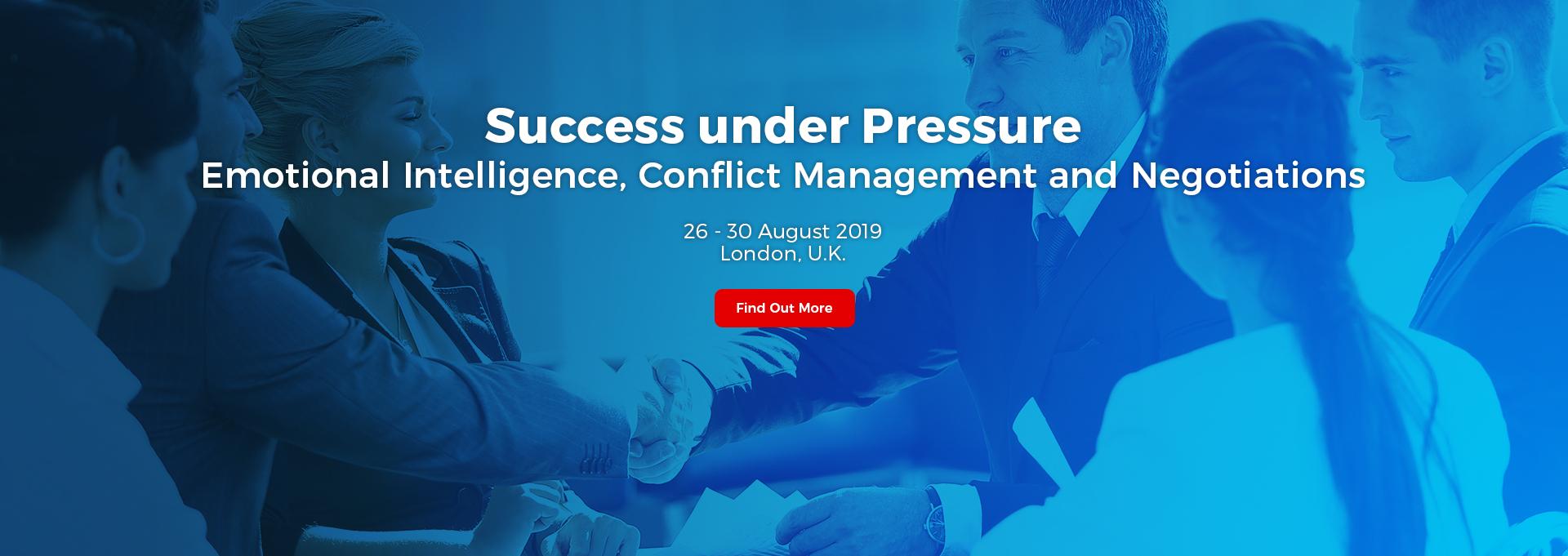 Success under Pressure