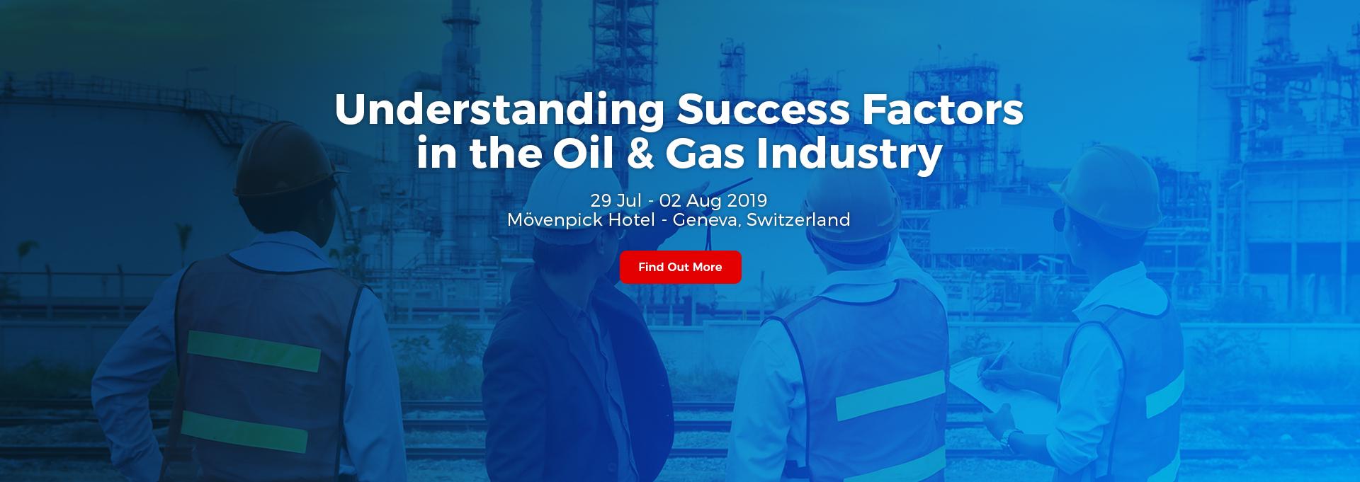 Understanding Success Factors in the Oil & Gas Industry