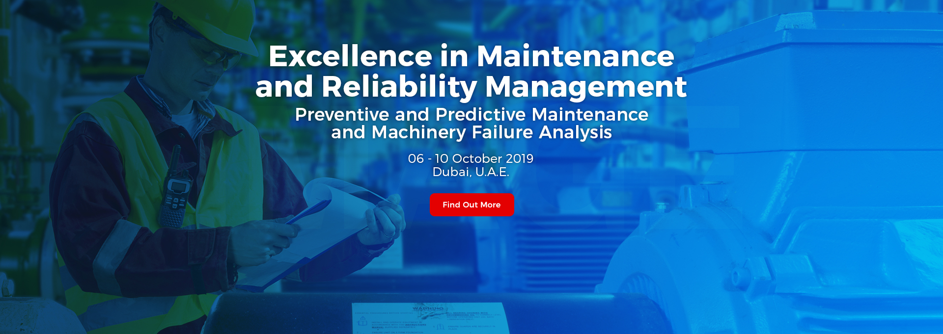 Excellence in Maintenance and Reliability Management