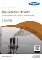 thumbnail of ME112Flares and Relief Systems: <br><small>Efficient Design, Safe Operation & Maintenance</small>