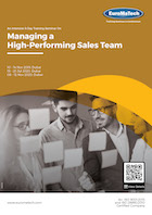 Managing a High-Performing Sales Team Thumbnail