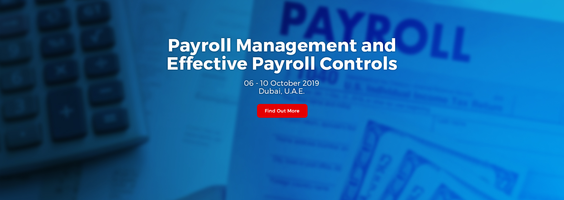 FI218 Payroll Management and Effective Payroll Controls