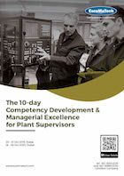 The 10-day Competency Development & Managerial Excellence for Plant Supervisors Thumbnail