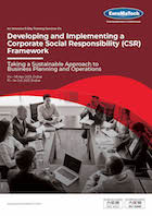Developing and Implementing a Corporate Social Responsibility (CSR) Framework Thumbnail