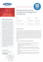Advanced Documents and Records Management Compliance Thumbnail