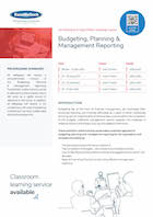 Budgeting, Planning &  Management Reporting Thumbnail