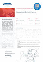 Budgeting & Cost Control Thumbnail