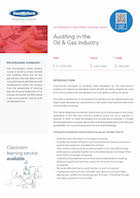 Auditing in the Oil & Gas Industry Thumbnail