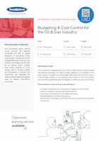 Budgeting & Cost Control for the Oil & Gas Industry Thumbnail