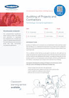 Auditing of Projects and Contractors Thumbnail