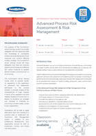 Advanced Process Risk Assessment & Risk Management Thumbnail
