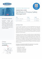 NEBOSH HSE Certificate in Process Safety Management Thumbnail