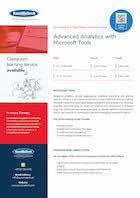 Advanced Analytics with Microsoft Tools Thumbnail