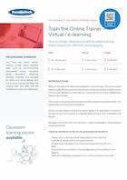 Train the Online Trainer – Virtual / e-learning Thumbnail