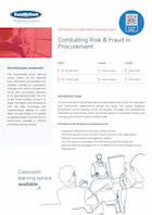Combating Risk & Fraud in Procurement Thumbnail
