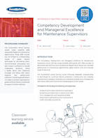 Competency Development and Managerial Excellence for Maintenance Supervisors Thumbnail
