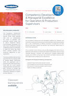Competency Development & Managerial Excellence for Operation & Production Supervisors Thumbnail