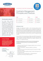 Contracts Management Principles and Practices Thumbnail