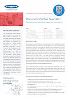 Document Control Specialist Thumbnail