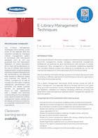 E-Library Management Techniques Thumbnail