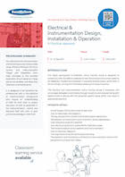 Electrical & Instrumentation Design, Installation & Operation: Thumbnail