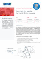 Finance & Accounting for the Oil & Gas Industry Thumbnail