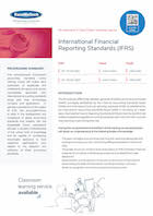 International Financial Reporting Standards (IFRS) Thumbnail