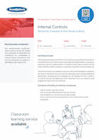 Internal Controls:Monitoring, Evaluation & Risk-Based Auditing Thumbnail