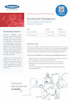 Emotional Intelligence: EQ for Innovative Leadership and Corporate Teamwork Thumbnail