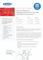 Human Resource Management for Oil, Gas and Petrochemical Sectors Thumbnail