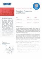 Electricity Economics and Markets Thumbnail