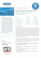 Asset Integrity Management:  Thumbnail
