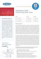 Managing a High-Performing Sales Team     Thumbnail