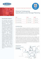 Material Cataloguing, Specifications and Storage Planning Thumbnail