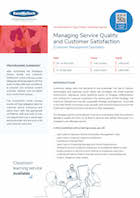 Managing Service Quality and Customer Satisfaction Thumbnail