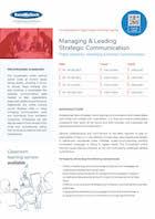 Managing & Leading Strategic Communication Thumbnail